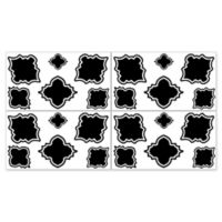 Sweet Jojo Designs Trellis Wall Decals in Black/White
