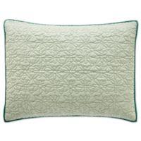 bluebellgray® Fern Standard Pillow Sham in Mint Green