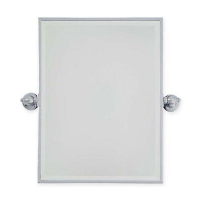 Minka Lavery 18 Inch X 24 Rectangle Pivoting Mirror In Chrome