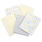 Gerber® 5-Pack Cotton Flannel Receiving Blankets