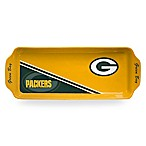 NFL Green Bay Packers Rectangular Game Time Appetizer Tray