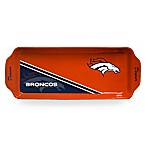 NFL Denver Broncos Rectangular Game Time Appetizer Tray