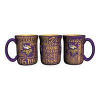 NFL Minnesota Vikings 17 oz. Sculpted Spirit Mug