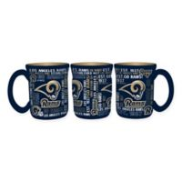 NFL Los Angeles Rams 17 oz. Sculpted Spirit Mug