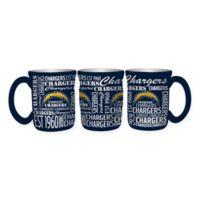 NFL San Diego Chargers 17 oz. Sculpted Spirit Mug