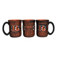 NFL Cincinnati Bengals 17 oz. Sculpted Spirit Mug