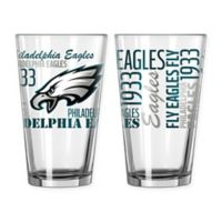 Boelter NFL Philadelphia Eagles 2-Pack Pint Glass Set