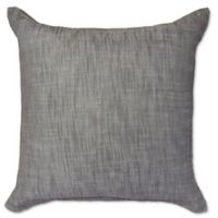 Amity Home Carter Herringbone European Pillow Sham in Grey