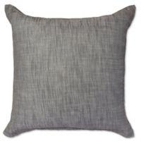 Amity Home Carter Herringbone European Pillow Sham in Grey