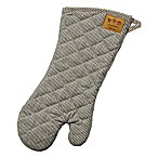 Railroad Stripe Denim Cotton BBQ Mitt