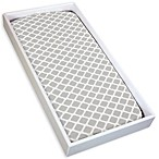 kushies® Cotton Flannel Change Pad Fitted Sheet in Lattice Grey