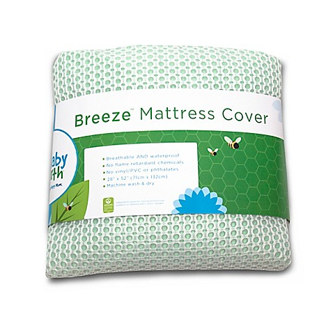 Breeze Breathable Waterproof Crib Mattress Cover Buybuy Baby
