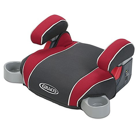 buy graco backless turbobooster car seat in chili red from bed bath beyond. Black Bedroom Furniture Sets. Home Design Ideas