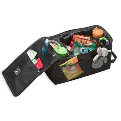 jl childress backseat butler car organizer in black