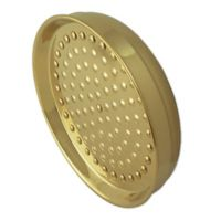Kingston Brass Vintage Showerhead in Polished Brass