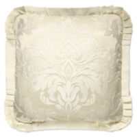 J. Queen New York™ Marquis Square Throw Pillow in Ivory