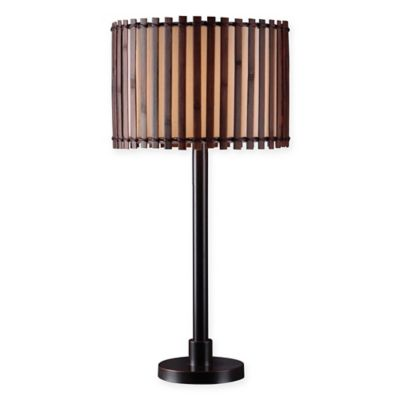 Kenroy Home Bora Table Lamp In Bronze