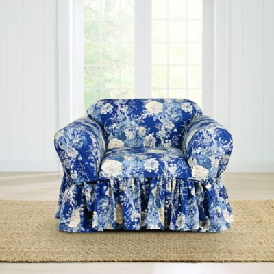 Buy Indigo Chair Slipcover From Bed Bath Amp Beyond