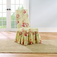 Sure Fit® Ballad Bouquet by Waverly™ Dining Room Chair Slipcover in Blush