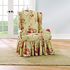 Sure Fit 174 Ballad Bouquet By Waverly Wing Chair Slipcover