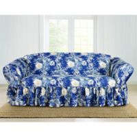 Sure Fit® Ballad Bouquet by Waverly™ Sofa Slipcover in Indigo