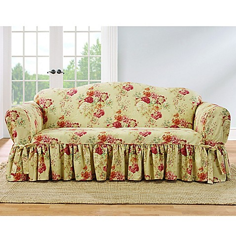 Sure Fit 174 Ballad Bouquet By Waverly Slipcover Collection