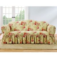 Sure Fit® Ballad Bouquet by Waverly™ Sofa Slipcover in Blush