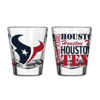 Boelter NFL Houston Texans 2-Pack Shot Glass Set