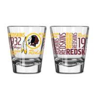 Boelter NFL Washington Redskins 2-Pack Shot Glass Set