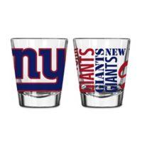 Boelter NFL New York Giants 2-Pack Shot Glass Set