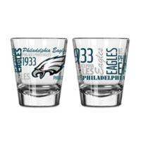 Boelter NFL Philadelphia Eagles 2-Pack Shot Glass Set