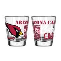 Boelter NFL Arizona Cardinals 2-Pack Shot Glass Set