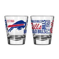 Boelter NFL Buffalo Bills 2-Pack Shot Glass Set