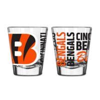 Boelter NFL Cincinnati Bengals 2-Pack Shot Glass Set