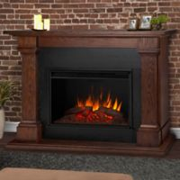 Real Flame® Callaway Grand Electric Fireplace in Chestnut Oak
