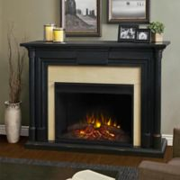 Real Flame® Maxwell 60-Inch Freestanding Electric Fireplace in Blackwash