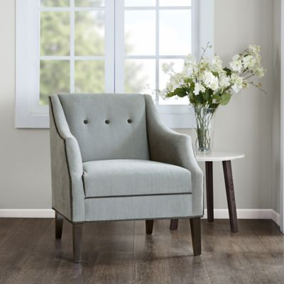 living room accent chair. Madison Park Miranda Club Accent Chair in Charcoal Buy Living Room Chairs from Bed Bath  Beyond