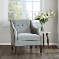 Madison Park Miranda Club Accent Chair in Charcoal