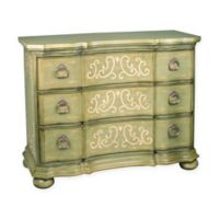 Sterling Industries Scroll Argent Chest in Green