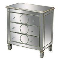 Sterling Industries Derin Mirrored Chest in Silver