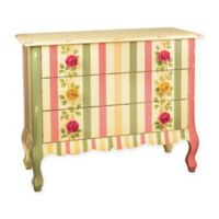 Sterling Wooden Rose Chest in Multicolor