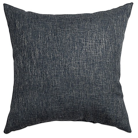Buy Softline Home Fashions Brookline Square Throw Pillow in Blue Steel from Bed Bath & Beyond