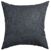 Softline Home Fashions Brookline Square Throw Pillow in Blue Steel