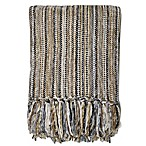 Streamers 50-Inch x 60-Inch Throw Blanket in Stripe