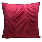 Mercer Throw Pillow in Merlot