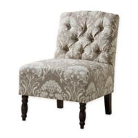 Madison Park LO Armless Chair in Taupe