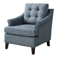 Madison Park Charleston Tufted Club Chair in Navy