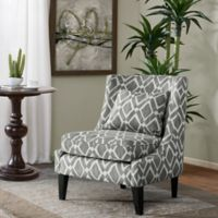 Madison Park™ Waverly Swoop Arm Chair in Grey