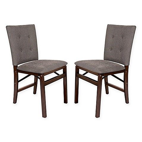 Folding Parsons Chairs Set Of 2 Bed Bath Amp Beyond