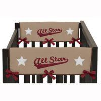 Sweet Jojo Designs All Star Sports Short Crib Rail Guard Covers